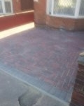 Block paving complete