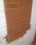 Brick and block window